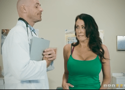 3168 Smart Doctor Johnny Sins Thinks How To Fuck Him New Patient Reagan Foxx