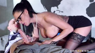 3238 Slicon Tited Peta Jensen Gets Bang On The Table By Johnny Sins