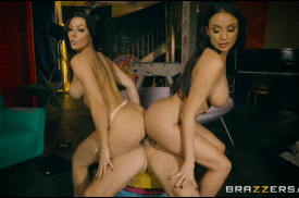 3216 Threesome To Creampie On Brazzers Studio By Rachel Starr And Anissa Kate