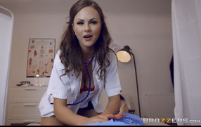 3251 Horny Nurse Tina Kay With Uniform Gets Fuck Anal In Hospital