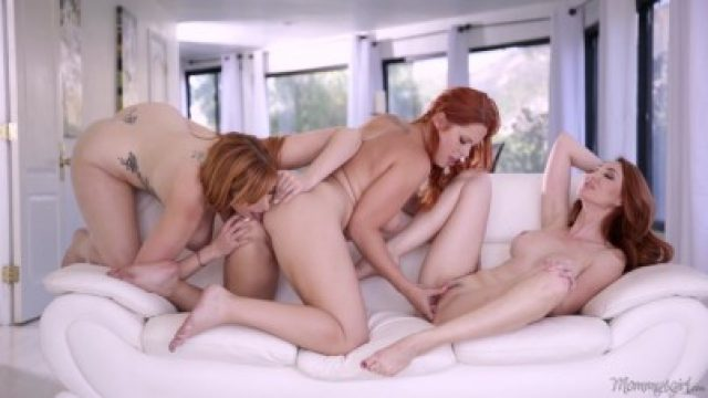 3318 Three Redhead Lesbians Kendra James Lauren Phillips And Edyn Blair