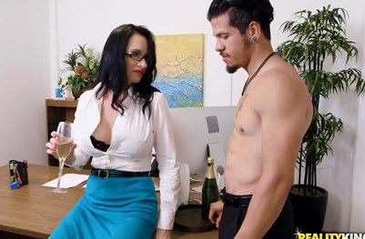 3659 Office Blowjob And Cumshot By Brunette Angie Noir