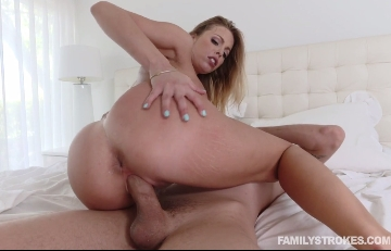 3674 My Stepmom Sucks My Cock In My Bedroom