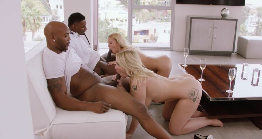 220-Exclusive-Babes Do Best For Black Cocks