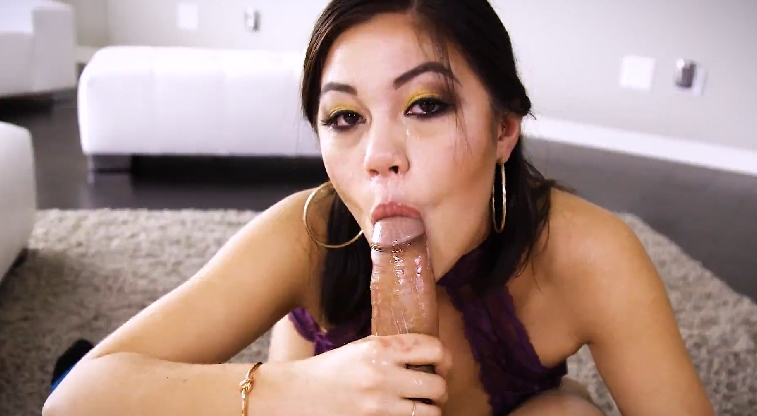 64 Asian Teen Kendra Spade And Blowjob Scene