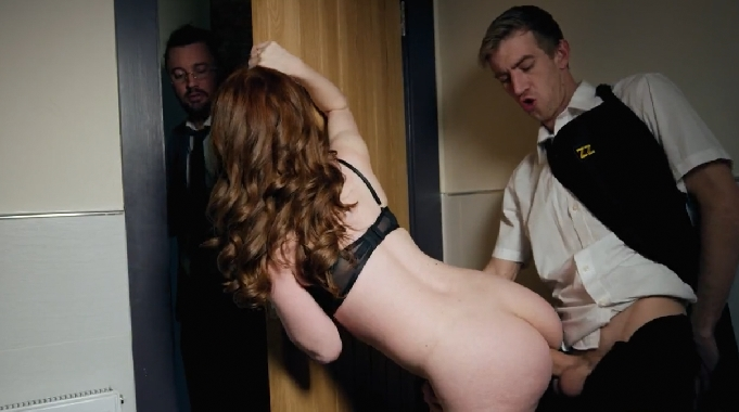 261-Exclusive – Horny Waiter Gets Fuck My Wife Ella Hughes