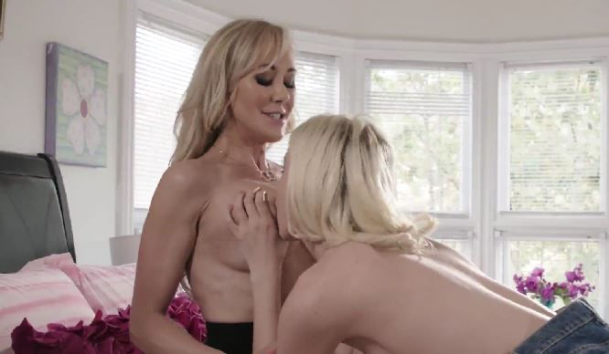 4141  Chloe Cherry Licks Brandi Love's Old Pussy