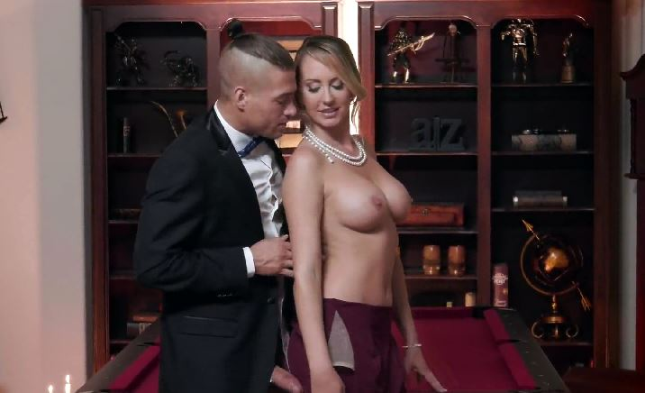 294 Have A Deep Sex After Dinner With Brett Rossi