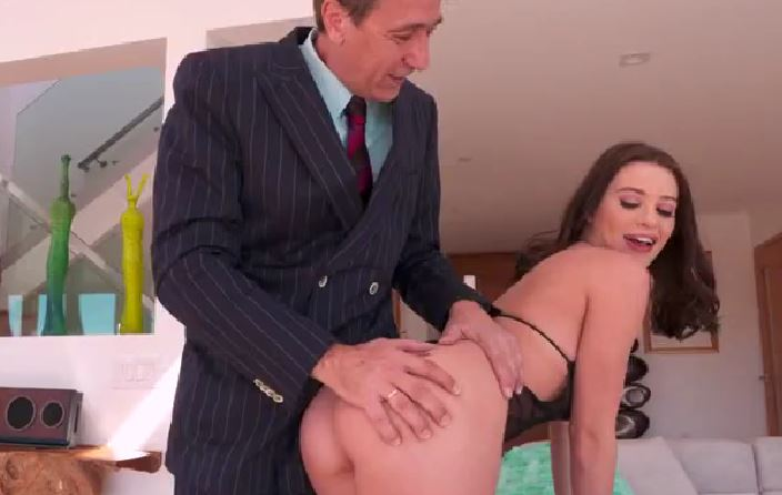 4214 Lana Rhoades Gets Fuck For Cash By Rich Old Man