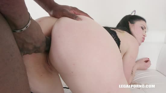 4300 Nordic Babe's First Anal Sex