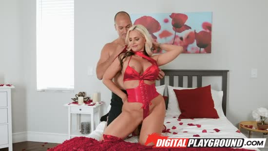 1130 Valentines Day Fuck With Blonde Stepmom Porn