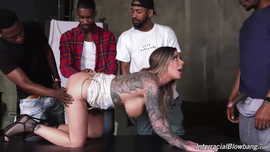 4580 First Gangbang For Tattooed Babe Karma Rx