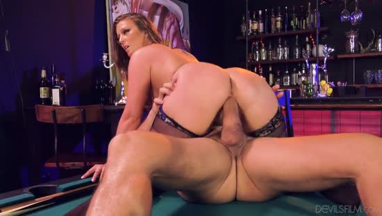 1060 Exclusive- Blonde Gets Fuck On Billiard table
